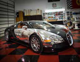 white bugatti veyron supersport buggati veyron wrapped in chrome car chat with auto supershield