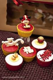 New Year S Decorated Cupcakes by Moomama Chinese New Year Party Food Pinterest New Years