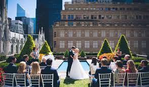 10 outdoor wedding venues in new york city weddingwire