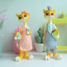 modern ornaments miniature figurines animals crafts