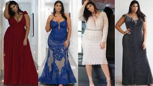 newyork dress plus size evening wear lookbook new york dress la tecia