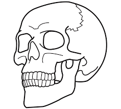 grim reaper skull coloring coloring pages