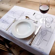 water glasses on table setting pardon my crumbs fun at your table a place setting placemat