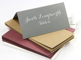 place cards folded blank or printed lci paper