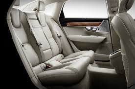 luxury cars inside take a look inside the 2017 volvo s90 luxury sedan
