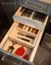 custom kitchen storage cabinet drawers for utensils in