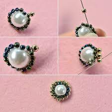 handmade flower bracelet images Pandahall original diy how to make a handmade three strand white jpg