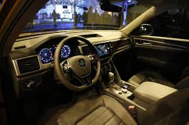 atlas volkswagen interior first look 2018 volkswagen atlas u2013 it will likely be a sales success