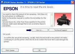 resetter epson l210 terbaru cara mereset dan memperbaiki printer epson l110 l100 l210 l300 l350