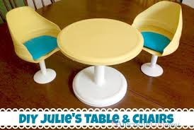 american doll table and chairs diy american furniture