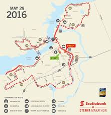 Ottawa Canada Map Scotiabank Ottawa Marathon World U0027s Marathons