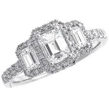 three emerald cut engagement rings cool three emerald cut engagement rings 41 for best design