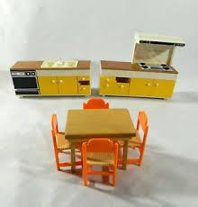 dolls house kitchen furniture tomy japan smaller doll house kitchen set 1970 s furniture ebay