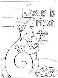 coloring pages easter basket sunday preschool