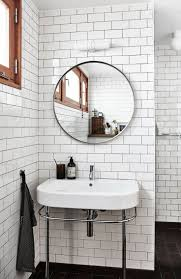 bathroom shower curtain mirror with window concept and white