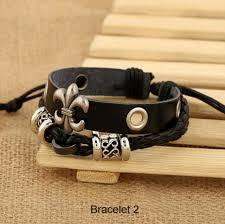 leather ladies bracelet images Bracelets mens ladies bracelets vintage rope leather hand woven png