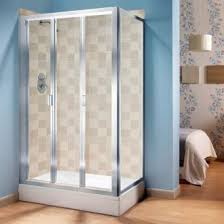 Shower Folding Doors Manhattan Shower Enclosure 1000mm Broadway Tri Fold Door