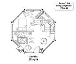 1 bedroom cottage floor plans guest house addition in suite flat floor plans