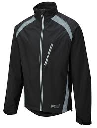 rainproof cycling jacket oska hi vis waterproof cycling jacket black foska com