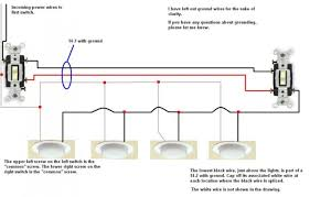 appealing diagram of wiring 3 way switch multiple lights between