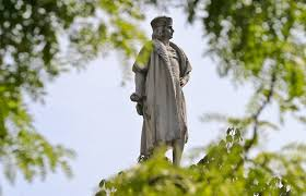 Black Flag Statue Puzzle Should N J Celebrate Columbus Here Are The Places We U0027ve