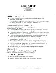 resume template for receptionist office receptionist resume office receptionist resume
