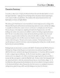Executive Summary Example Resume Executive Summary Of A Term Paper