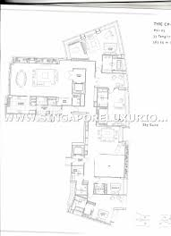 Aspen Heights Floor Plan by St Regis Residences Site U0026 Floor Plan Singapore Luxurious Property