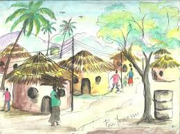 village scenery for drawing village scenery for drawing children
