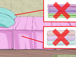 How To Make Your Bed How To Make A Hotel Bed With Pictures Wikihow