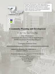 draft 2017 action plan as required by the u s department of