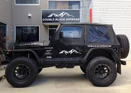 starwood motors kevlar paint custom black kevlar coated 2014 jeep wrangler unlimited custom