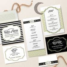 gatsby wedding invitations design your wedding invitations deco gatsby style