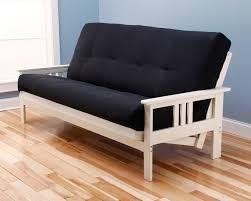 monterey futon frame antique white by kodiak