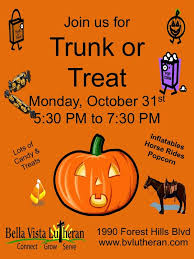 trunk or treat flyer template for church image mag