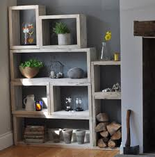 reclaimed wood vintage box shelves wood boxes shelving and mad