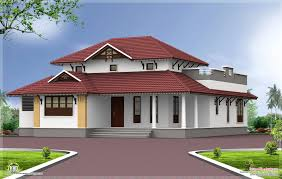 exterior home design one story single storey home exterior feet kerala plans home building