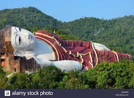 reclining buddha myanmar u0026 the shwethalyaung buddha is a reclining