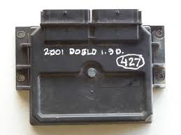 Fiat Faucet Parts Genuine Fiat Doblo Cargo 1 9 D Diesel Engine Ecu Brain 46737473