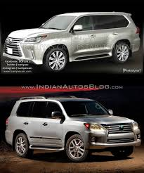 lexus lx interior 2015 2016 lexus lx570 vs 2014 lexus lx570 old vs new