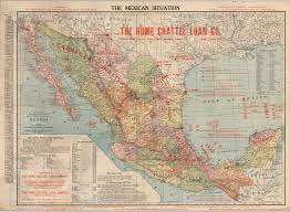 Mexico Map 1821 by The Mexican Situation Yana U0026 Marty Davis Map Collection