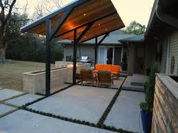 modern patio cover dallas modern ranch style patio cover