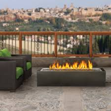 Heating Outdoor Spaces - gpfl48 linear patioflame outdoor firepit ideas pinterest