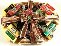 summer sausage gift basket executive class sausage and cheese gift basket meat