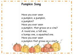 best 25 pumpkin song ideas on pumpkin preschool