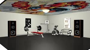 3d weight room by ninjavanish on deviantart