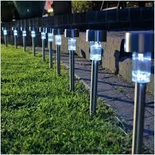 solar lights for landscaping solar landscape spotlights 2 pack