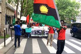 Biafra Flag Biafrans In Diaspora Walk For The Actualization Of Biafra In New