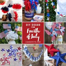 fourth of july decorations 37 fourth of july crafts printables and diy projects