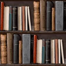 grandeco library books pattern bookshelf vinyl wallpaper voc 01 01 5